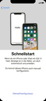 Apple iPhone X - iOS 11 - Persönliche Einstellungen von einem alten iPhone übertragen - 9 / 40