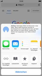Apple iPhone 8 - iOS 12 - Internet und Datenroaming - Verwenden des Internets - Schritt 17