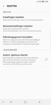 Samsung Galaxy Note 8 - Toestel reset - terugzetten naar fabrieksinstellingen - Stap 6