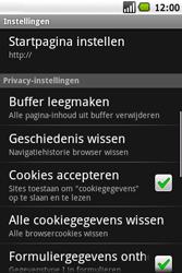 Samsung Galaxy Spica (GT-i5700) - Internet - Handmatig instellen - Stap 17