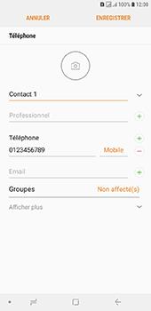 Samsung Galaxy J6 Plus - Contact, Appels, SMS/MMS - Ajouter un contact - Étape 12