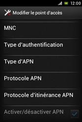 Sony ST23i Xperia Miro - MMS - configuration manuelle - Étape 14
