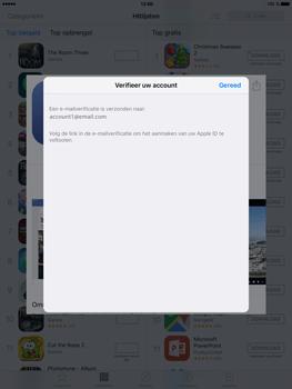 Apple iPad Mini 4 - Applicaties - Account aanmaken - Stap 21
