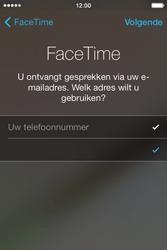 Apple iPhone 4S met iOS 5 (Model A1387) - Applicaties - FaceTime gebruiken - Stap 7