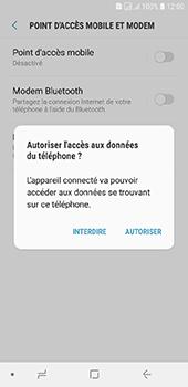 Samsung Galaxy J6 - Internet et connexion - Utiliser le mode modem par USB - Étape 7
