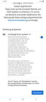 Samsung Galaxy A80 - Apps - Konto anlegen und einrichten - Schritt 20