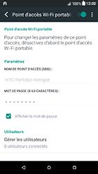 HTC Desire 650 - Internet et connexion - Partager votre connexion en Wi-Fi - Étape 16