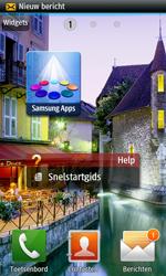 Samsung S8530 Wave II - MMS - automatisch instellen - Stap 3