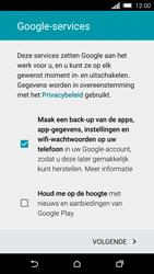 HTC One M8s (Model 0PKV100) - Applicaties - Account aanmaken - Stap 15