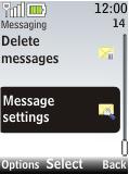Nokia 2720 fold - SMS - Manual configuration - Step 4