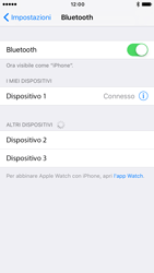 Apple iPhone 6 iOS 10 - Bluetooth - Collegamento dei dispositivi - Fase 8