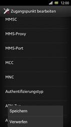 Sony Xperia U - MMS - Manuelle Konfiguration - Schritt 14