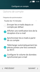 Huawei Y5 - E-mail - 032b. Email wizard - Yahoo - Étape 10