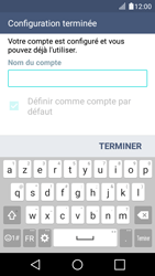 LG K4 - E-mails - Ajouter ou modifier votre compte Outlook - Étape 9