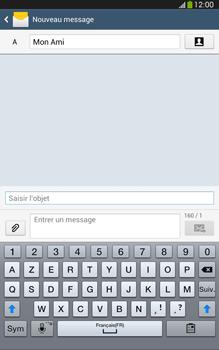 Samsung Galaxy Tab 3 8 4G - Contact, Appels, SMS/MMS - Envoyer un MMS - Étape 11