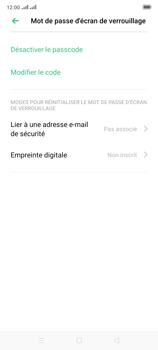 Oppo Reno 2 - Sécuriser votre mobile - Activer le code de verrouillage - Étape 12