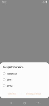 Samsung Galaxy Note20 Ultra 5G - Contact, Appels, SMS/MMS - Ajouter un contact - Étape 5
