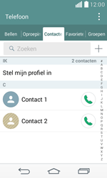 LG D390n F60 - Contactgegevens overzetten - delen via Bluetooth - Stap 4