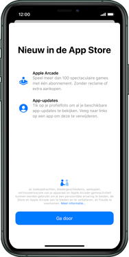 Apple iphone-x-met-ios-13-model-a1901 - Applicaties - Downloaden - Stap 3