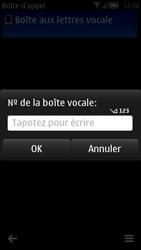 Nokia 700 - Messagerie vocale - Configuration manuelle - Étape 7