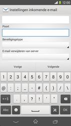 Sony Xperia M2 (D2303) - E-mail - Handmatig instellen - Stap 10