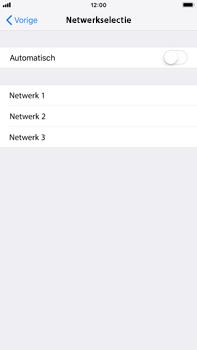 Apple iPhone 6 Plus - iOS 12 - Netwerk - Handmatig een netwerk selecteren - Stap 6