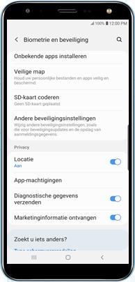 Samsung N7100 Galaxy Note II - Beveilig je toestel tegen verlies of diefstal - Maak je toestel eenvoudig BoefProof - Stap 3