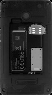 Microsoft Lumia 532 - SIM-Karte - Einlegen - Schritt 5