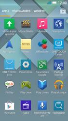 Alcatel One Touch Idol Mini - Internet et roaming de données - Comment vérifier que la connexion des données est activée - Étape 3