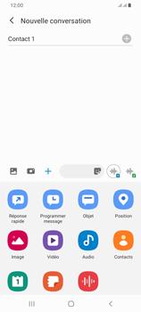 Samsung Galaxy A42 5G - Contact, Appels, SMS/MMS - Envoyer un MMS - Étape 10