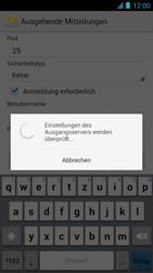 Alcatel One Touch Idol - E-Mail - Manuelle Konfiguration - Schritt 17