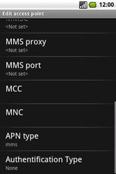 Samsung I7500 Galaxy - MMS - Manual configuration - Step 10