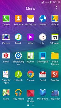 Samsung N910F Galaxy Note 4 - SMS - Manuelle Konfiguration - Schritt 3
