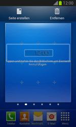 Samsung Galaxy Trend Lite - Startanleitung - Installieren von Widgets und Apps auf der Startseite - Schritt 8