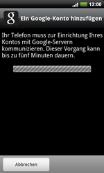 HTC Desire HD - Apps - Konto anlegen und einrichten - 3 / 3