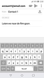 LG K11 - E-mail - Bericht met attachment versturen - Stap 10