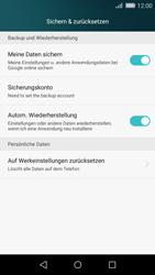 Huawei P8 Lite - Fehlerbehebung - Handy zurücksetzen - Schritt 6