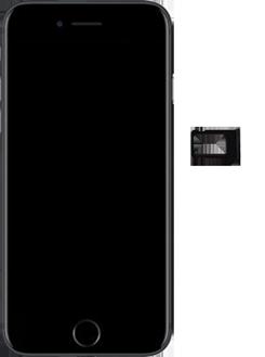 Apple iPhone SE (2020) - Device - Insert SIM card - Step 3