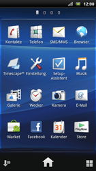 Sony Ericsson Xperia Arc S - WLAN - Manuelle Konfiguration - Schritt 3