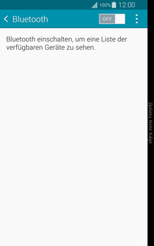 Samsung Galaxy Note Edge - Bluetooth - Geräte koppeln - 0 / 0