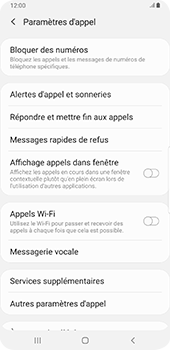 Samsung Galaxy S9 Plus - Android Pie - Messagerie vocale - configuration manuelle - Étape 7