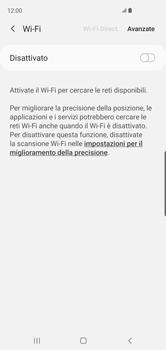 Samsung Galaxy S10 - WiFi - Configurazione WiFi - Fase 6