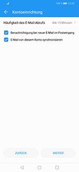 Huawei Honor Play - E-Mail - Konto einrichten - Schritt 17