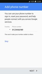 Samsung G930 Galaxy S7 - Applications - Create an account - Step 13