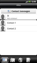 HTC A7272 Desire Z - contacten, foto