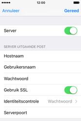 Apple iPhone 4S iOS 9 - E-mail - handmatig instellen - Stap 19