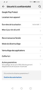 Huawei Y5 (2019) - Sécuriser votre mobile - Activer le code de verrouillage - Étape 4