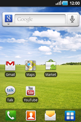 Samsung S5660 Galaxy Gio - MMS - configuration automatique - Étape 1