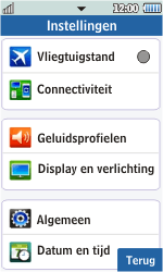 Samsung S5260 Star II - wifi - handmatig instellen - stap 4