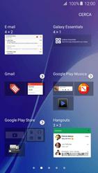 Samsung Galaxy A5 (2016) (A510F) - Operazioni iniziali - Installazione di widget e applicazioni nella schermata iniziale - Fase 5